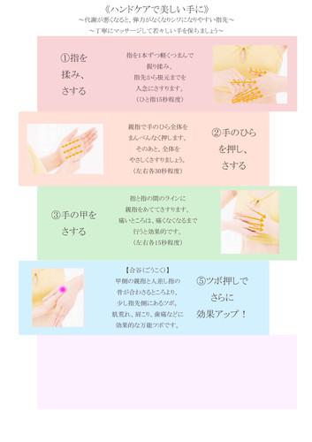 k.マッサージ(指)