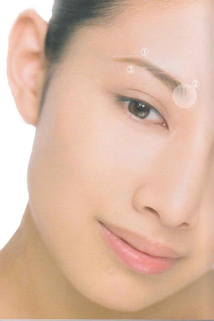 e.眉の色や濃さについて