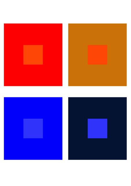 h.彩度対比